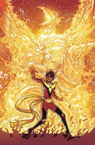 Avengers #674 (Schoonover Phoenix Cover)