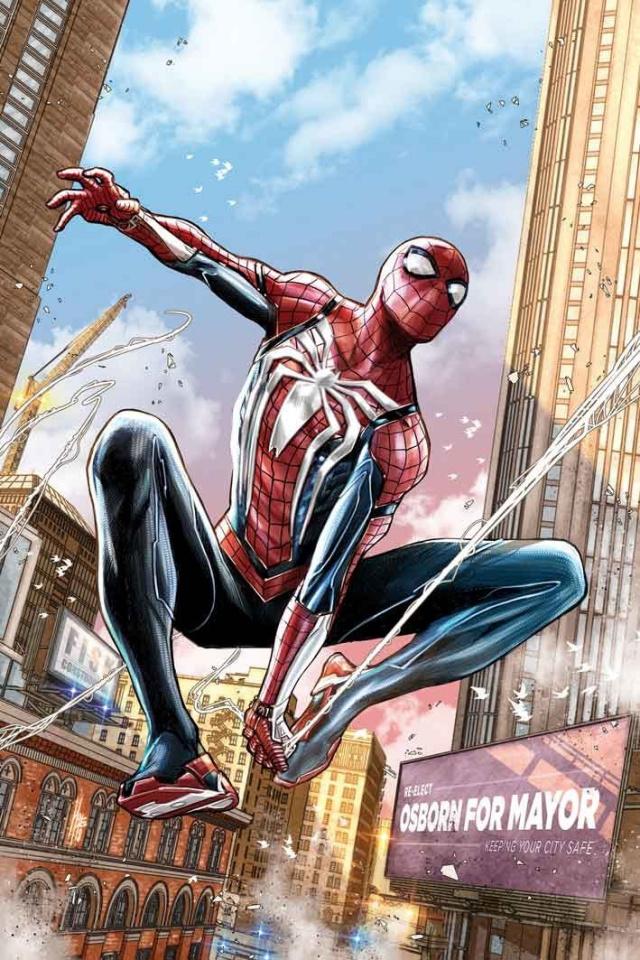 Spider-Man: City At War #2 (Checchetto Cover)
