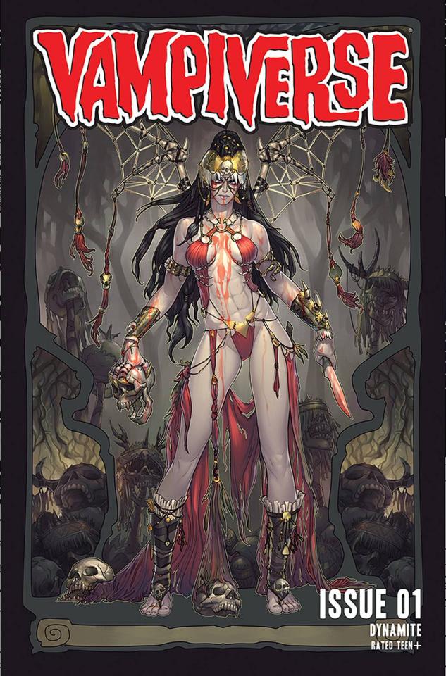 Vampiverse #1 (Hetrick Cover)