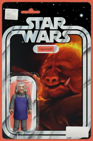 Star Wars #35 (Christopher Action Figure Cover)