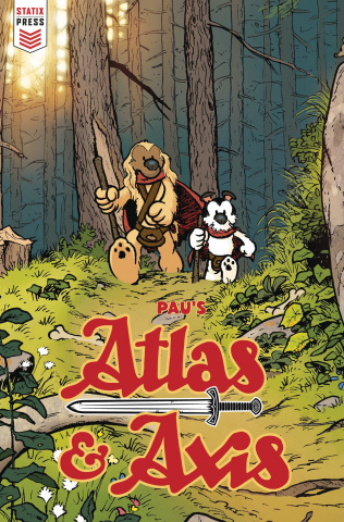 Atlas & Axis #1 (Pau Cover)