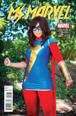 Ms. Marvel #1 (Cosplay Cover)