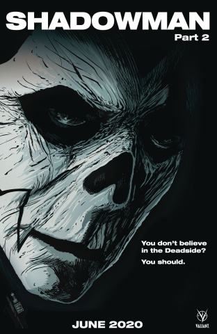 Shadowman #2 (Francavilla Cover)