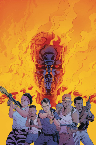The Terminator: Sector War #3 (Sammelin Cover)