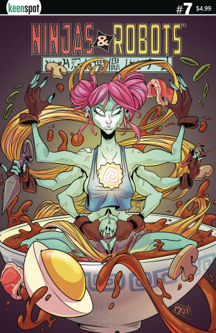 Ninjas & Robots #7 (Matt Young Cover)