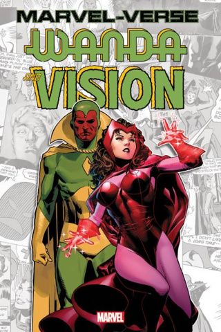 Marvel-Verse: Wanda and Vision