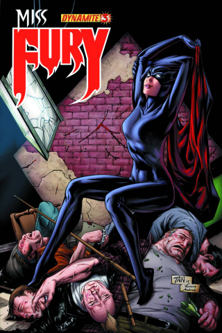 Miss Fury #3 (Tan Cover)