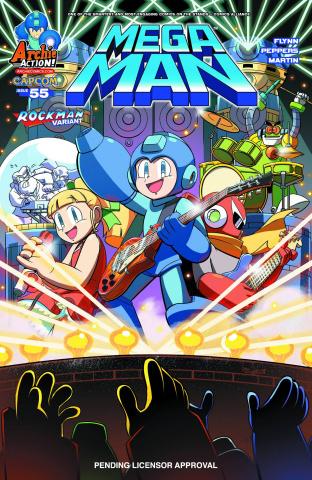Mega Man #55 (Jampole Cover)