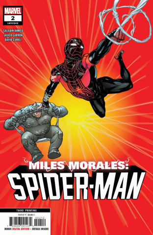 Miles Morales: Spider-Man #2 (Garron 3rd Printing)