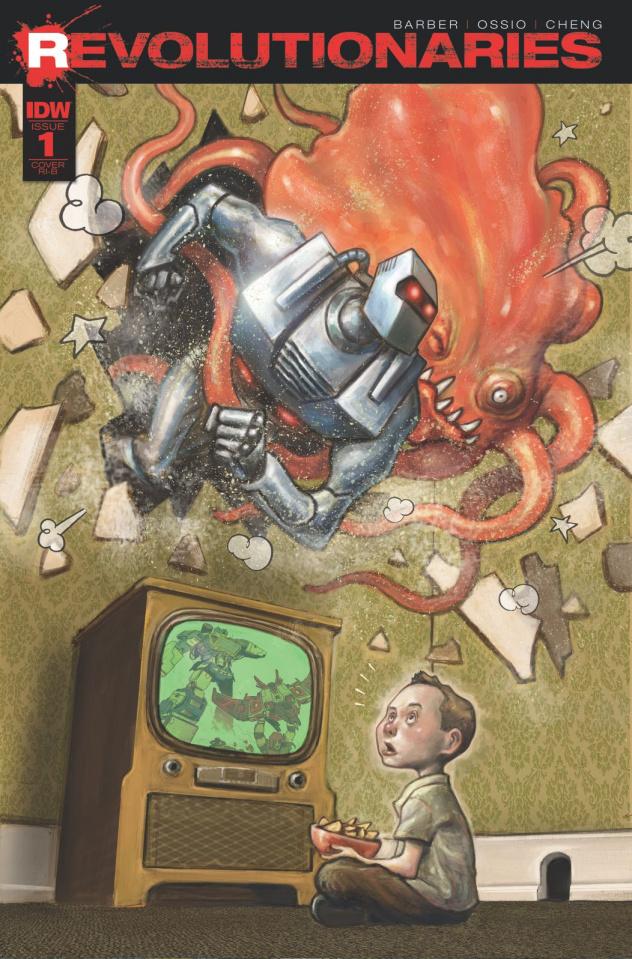 Revolutionaries #1 (25 Copy Cover)