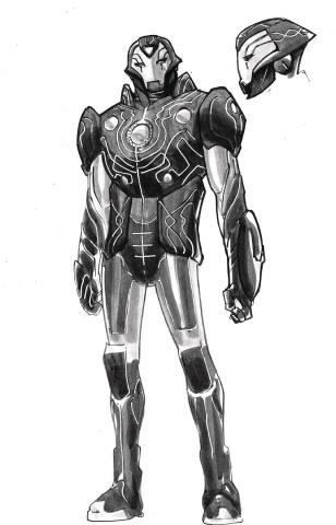 Infinity Wars: Iron Hammer #1 (Ramos Design Cover)