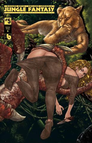 Jungle Fantasy: Ivory #5 (Costume Change Cover)