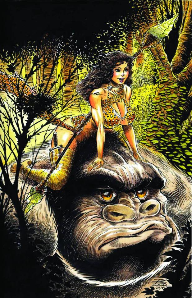 Cavewoman: The Return #4 (Durham Cover)