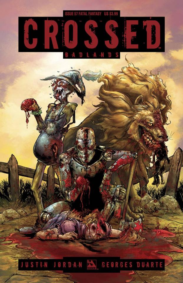 Crossed: Badlands #57 (Fatal Fantasy Cover)