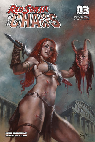 Red Sonja: Age of Chaos #3 (Parrillo Cover)