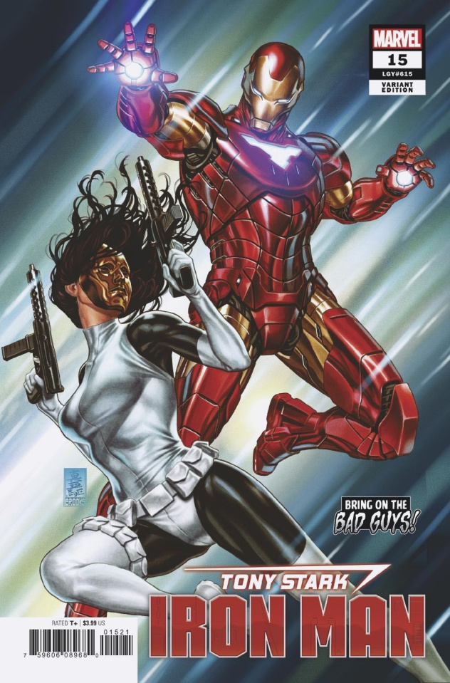 Tony Stark: Iron Man #15 (Brooks / BobG Cover)