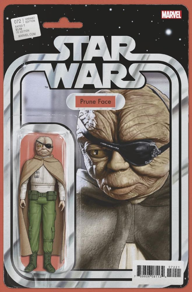 Star Wars #72 (Christopher Action Figure Cover)