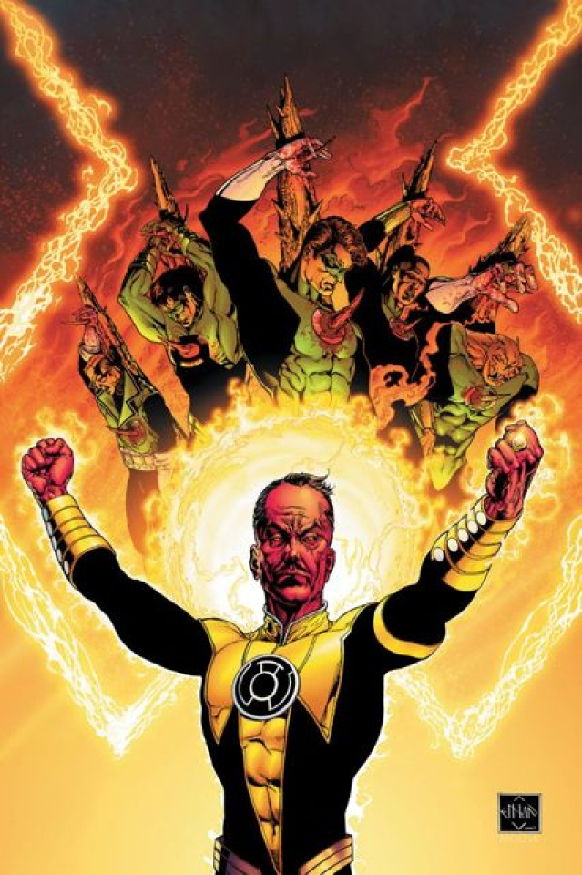 Absolute Green Lantern: Sinestro Corps War