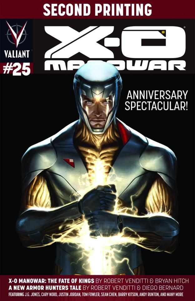 X-O Manowar #25 (2nd Printing)