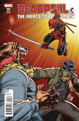 Deadpool and the Mercs For Money #5 (Lim Cover)