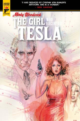 Minky Woodcock: The Girl Who Electrified Tesla #3 (Mack Cover)