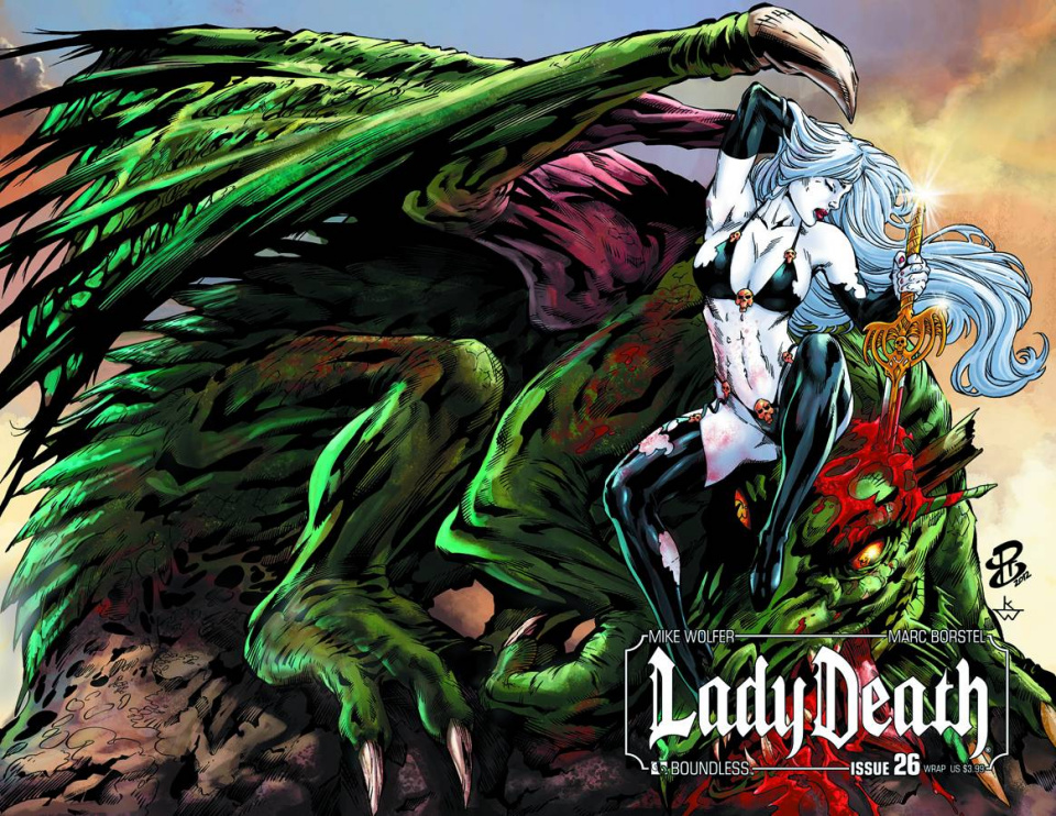 Lady Death #26 (Wrap Cover)