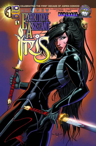 All New Executive Assistant Iris #1 (Direct Market Cover)