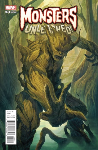 Monsters Unleashed! #4 (Homare Cover)
