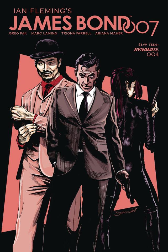 James Bond: 007 #4 (Mooney Cover)
