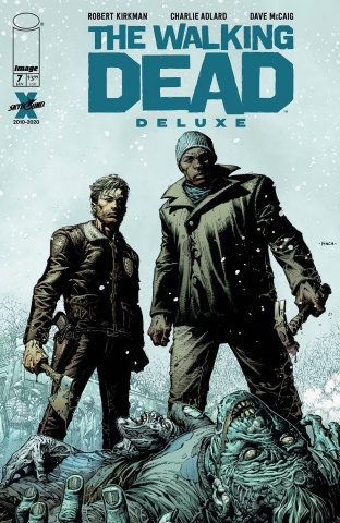 The Walking Dead Deluxe #7 (Finch & McCaig Cover)