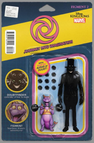 Figment 2 #4 (Christopher Action Figure Cover)