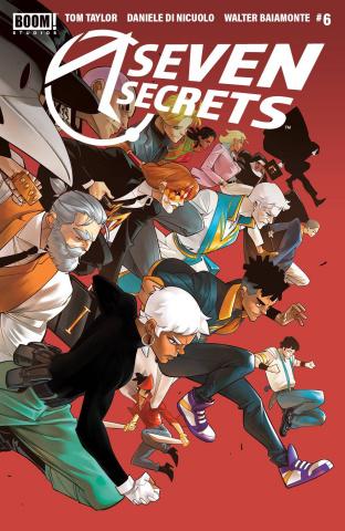 Seven Secrets #6 (2nd Printing)