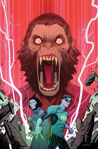 The Planet of the Apes / The Green Lantern #4