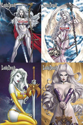 Lady Death: Naughty Gift Box