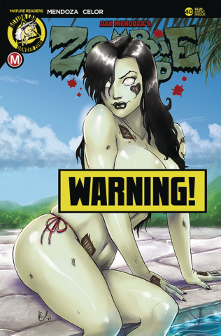 Zombie Tramp #40 (Harrigan Risque Cover)