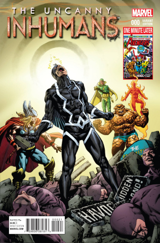 The Uncanny Inhumans #0 (Perkins Avengers Var Cover)