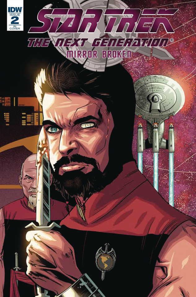 Star Trek: The Next Generation - Mirror Broken #2 (10 Copy Cover)