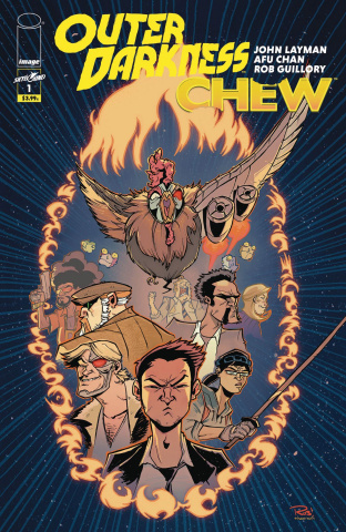 Outer Darkness / Chew #1 (Guillory Cover)