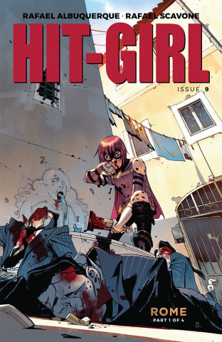 Hit-Girl #9 (Bengal Cover)