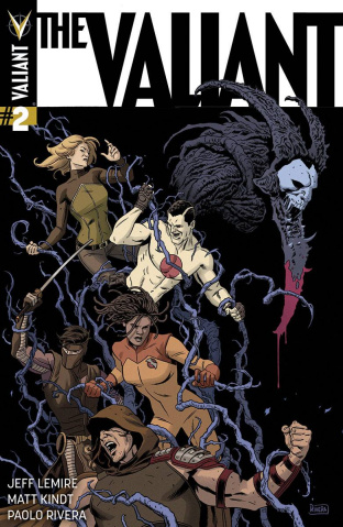 The Valiant #2 (Rivera Cover)