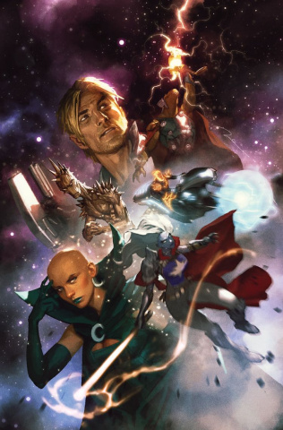Guardians of the Galaxy #1 (Parel Cover)
