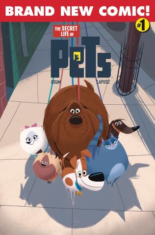 The Secret Life of Pets #1 (Goum Cover)