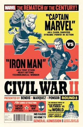 Civil War II #8 (Cho Cover)