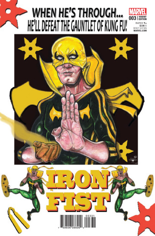 Iron Fist #3 (Davis Cover)