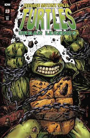 Teenage Mutant Ninja Turtles: Urban Legends #23 (10 Copy Eastman Cover)
