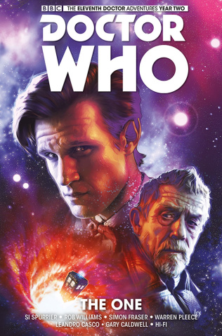 Doctor Who: New Adventures with the Eleventh Doctor, Year Two Vol. 5: The One