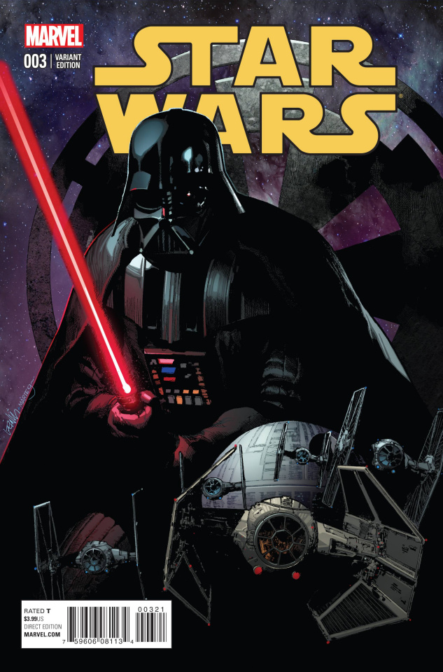 Star Wars #3 (Yu Cover)