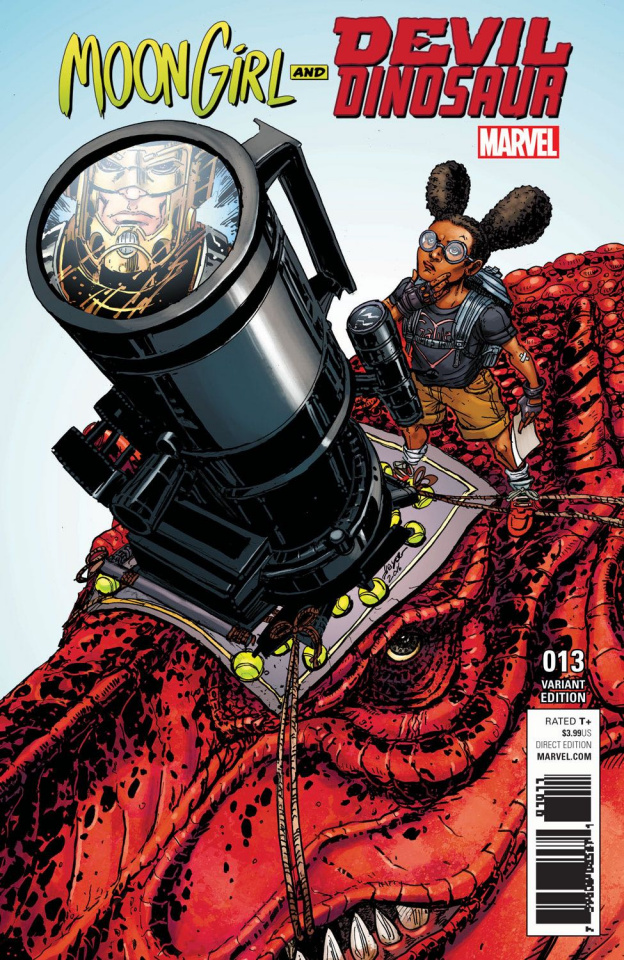 Moon Girl and Devil Dinosaur #13 (Chin Steam Cover)
