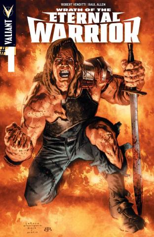 Wrath of the Eternal Warrior #1 (20 Copy Larosa Cover)
