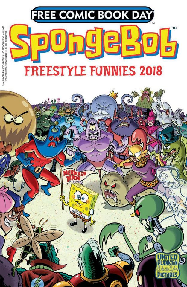 Spongebob Comics Freestyle Funnies FCBD 2018 Special